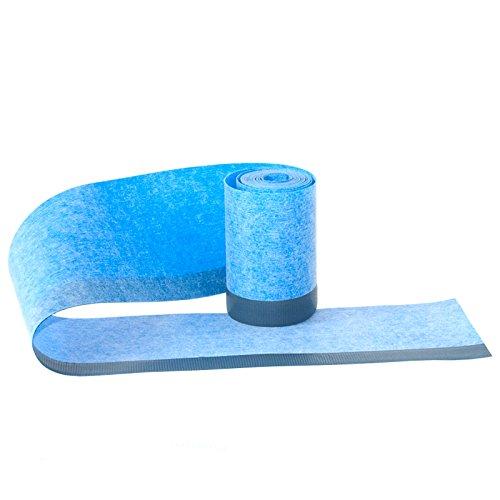 Wannendichtband Fugenband mit einem 2cm selbstklebenden Streifen Länge: 3m