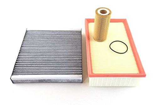Oliefilter luchtfilter actief koolfilter Golf VII 7-5G1 BA5 2.0 GTI 2.0 R