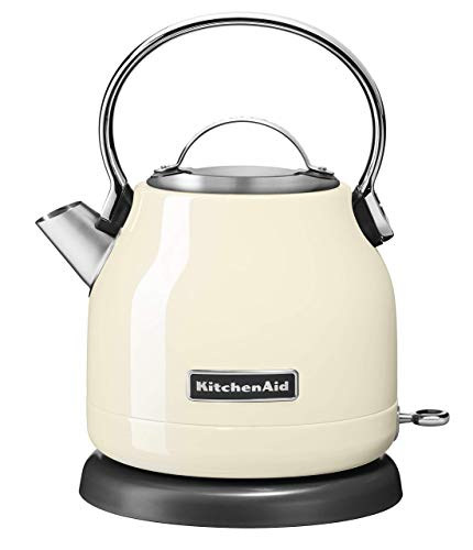 KitchenAid 5KEK1222EAC 5KEK1222 Wasserkocher, Edelstahl, 2 liters, Almondcream