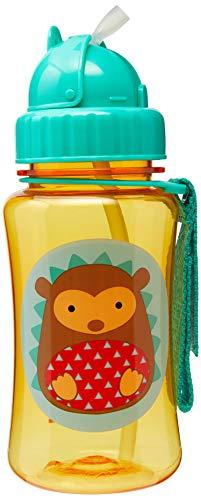 Skip Hop Zoo Trinkflasche für Kinder Trinklernflasche, Igel Hudson, mehrfarbig
