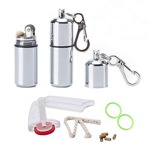 Peanut Lighter EDC Mini Waterproof Lighter (2 Pack)