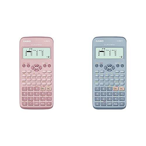 Nuevo Casio FX-83GTX Calculadora científica Rosa + FX-83GTX Calculadora científica Azul