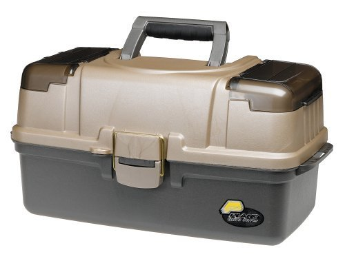 Plano Large 3-Tray with Top Access Tackle Box, Gray, Pack of 1