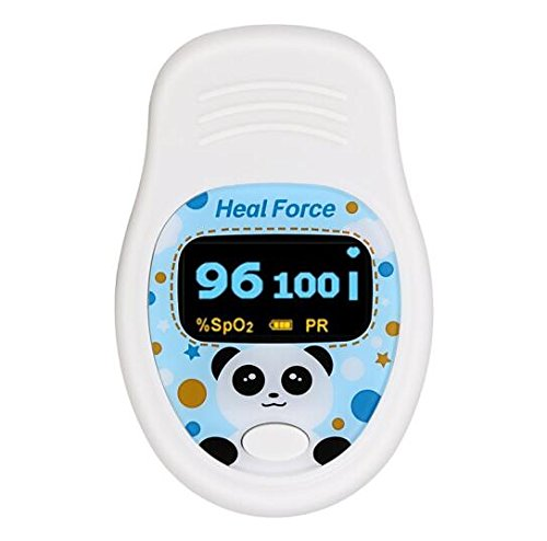 Oxímetro de dedo para niños Heal Force