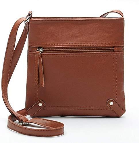 Mdsfe Yogodlns Designers Women Messenger Bags Females Bucket Bag Leather Crossbody Shoulder Bag Handbag Satchel - light brown