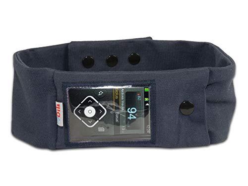 Bauchgurt Bauchband Sportband Pumpentasche Tasche für Insulinpumpe 5064 Größe 50cm - 55cm