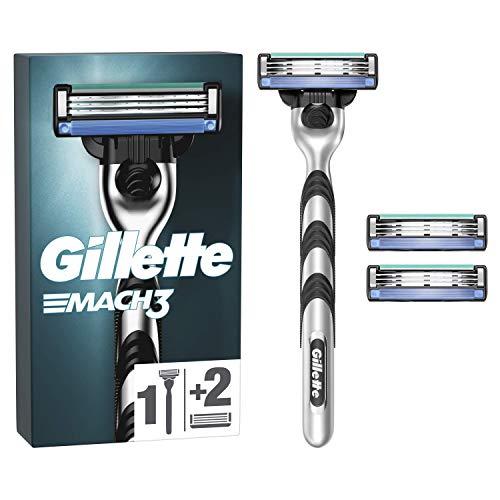 Gillette Mach3 - Afeitadora para hombre (incluye 3 cuchillas de recambio)