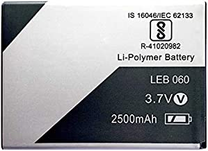 RJR Compitable for Lava LEB060 2500 mAh Battery Lava Xolo Era 2