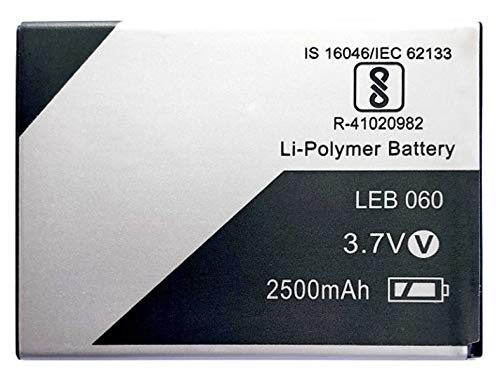 RJR Compitable for Lava LEB060 2500 mAh Battery Lava Xolo Era 4G