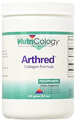 Arthred Collagen Formula Powder 240 Grams by Nutricology