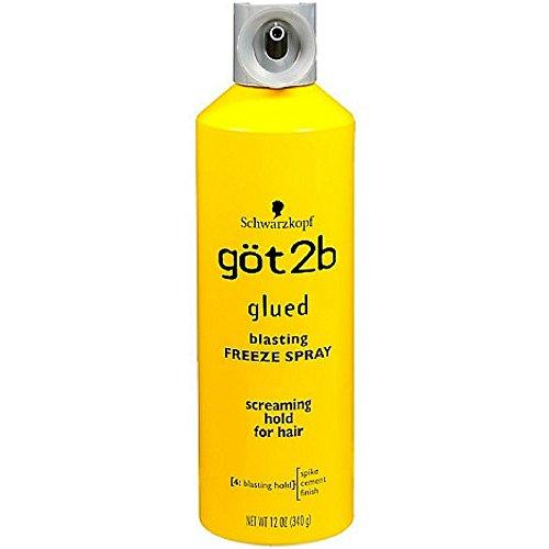 Got2b Glued Blasting Freeze Hairspray, 12 Ounce