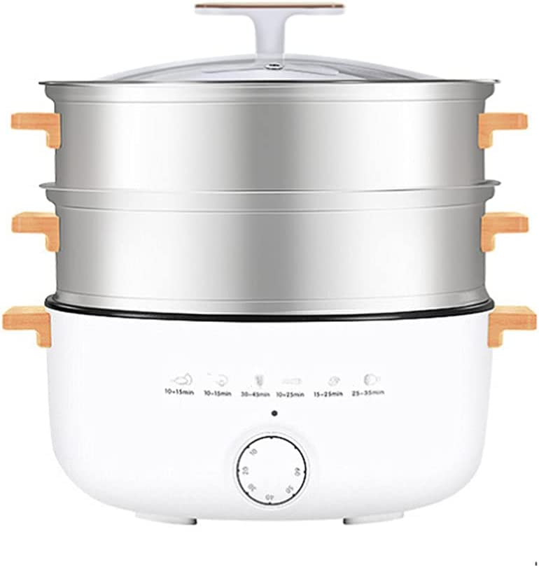 Electric Food Vegetable Steamer 3 shipfree Large Capacity Los Angeles Mall Veget 14l Tier