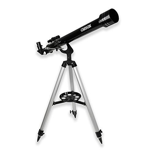 Carson SkySeeker 40-100x60mm Refractor Beginner Telescope with Tripod (JC-1000)