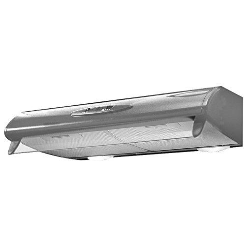 Mepamsa Mito 60 Campana aspirante convencional, color gris metal, 40 W, 66 Decibelios, 2 Velocidades: 163.51: Amazon.es: Grandes electrodomésticos