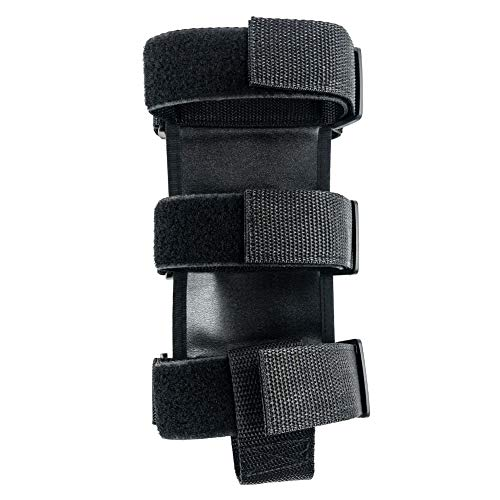 QWORK Roll Bar Fire Extinguisher Holder Adjustable Extinguisher Mount Strap (Black)