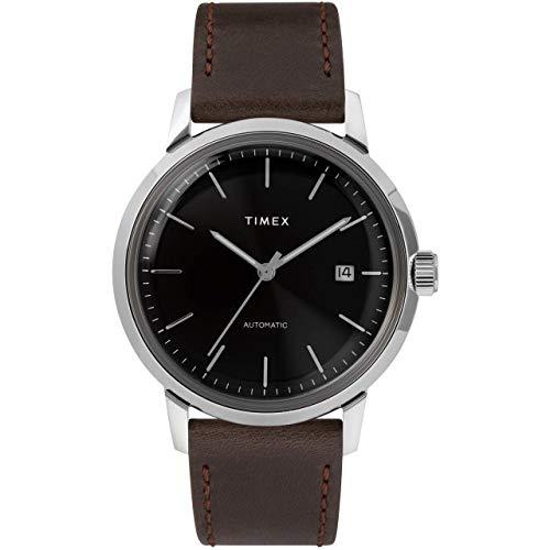 Timex Marlin automatico | cinturino in pelle marrone | TW2T230007U