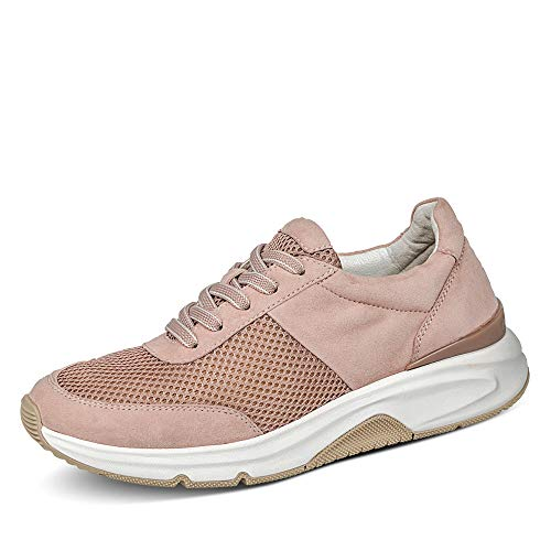 Gabor Damen Halbschuhe, Frauen Sneaker Low,lose Einlage,straßenschuhe,Strassenschuhe,Sportschuhe,antikrosa,44 EU / 9.5 UK