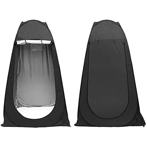 YQZ Pop-up-Sichtschutzzelt, tragbares Duschzelt für die Außentoilette, Umkleidekabine, Regenschutz mit Fenster, einfach auf- und abzubauen