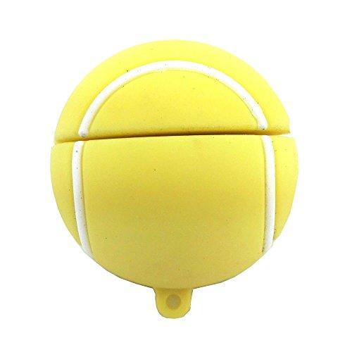Aneew - Pendrive USB Flash Drive, 16GB, sport Tennis Ball 16 Gb