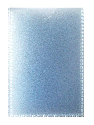 JustRean Live 10 dünne Ausweishüllen Scheckkartenhüllen Dokumentenhüllen 90 x 56mm flexibel transparent
