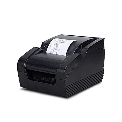 TL Drucker, Hochleistungsdruckkopf scharfer Abriß Papier leicht zu Einlegen von Papier-Design, für das Büro zu Hause, schwarz