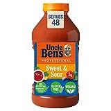 Uncle Ben's Professional - Salsa agridulce oriental sin verduras, 2,43 kg, 256308