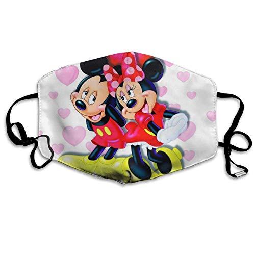 Atmungsaktive Gesichtsbedeckung Wiederverwendbare Mundschutz Mickey-Mouses Multi Usage Gesichtsdekoration Mundbedeckung