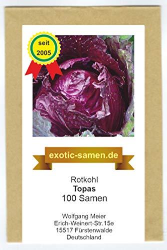 Rotkohl - Topas (100 Samen)