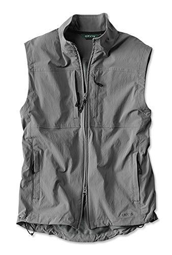 Orvis Men's Meridian Wind Vest, Gunsmoke, X Large