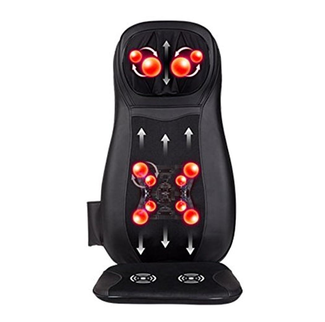 マザーランドペネロペ利益全身用の電気クッションマッサージ器、多機能4 in 1 12V 48Wユニバーサルカーと家庭用ダブルシースと洗濯可能