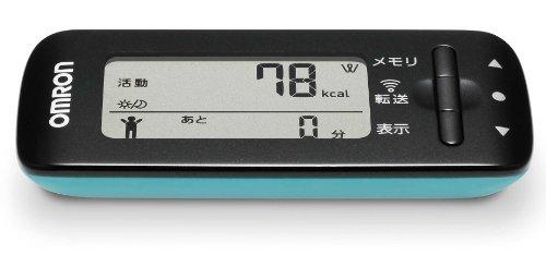 オムロン(OMRON) 活動量計 カロリスキャン WellnessLink ブルー HJA-307IT-B