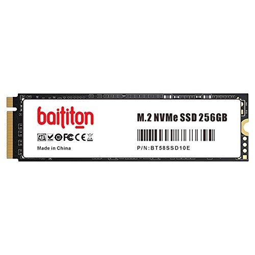 BAITITON NVME 256GB SSD M.2 2280 PCIe Express GEN3.0x4 SSD Interne 256Go Disque Dur Haute Performance