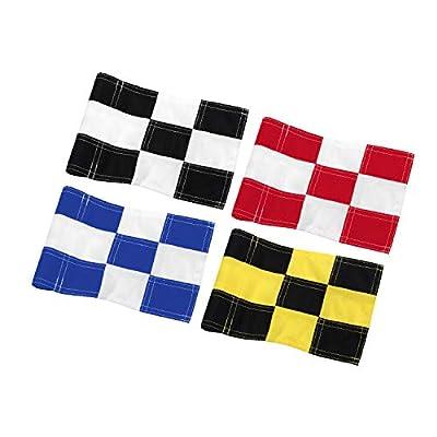 KINGTOP Checkered Golf Flag