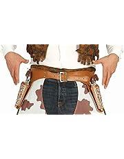 Guirca 18441 - Cartuchera Doble con Pistolas