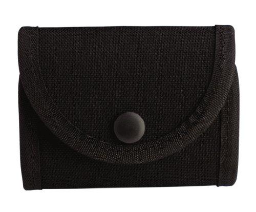 Uncle Mike's Kodra Duty Nylon Web Double Snap Close Latex Glove Pouch, Black -  Uncle Mike?s Law Enforcement, 88961