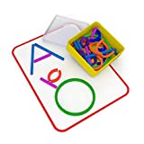 Osmo - Little Genius Sticks & Rings - 2 Educational Games - Ages 3-5 - Imagination, Letter Formation & Creativity - For iPad or Fire Tablet - STEM Toy (Osmo Base Required - Amazon Exclusive)