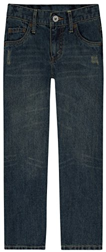 Levi's Boys' Big 514 Straight Fit Jeans, Atlas, 12 Slim