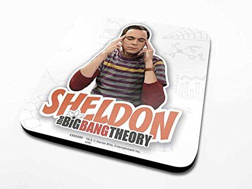 empireposter Big Bang Theory, The – Sheldon – Dessous-de-Verre – Dimension 10 x 10 cm