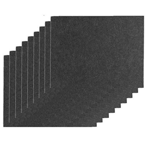 Proteja sus pisos de madera Cojines de muebles 9 Piezas Auto adhesivo de fieltro de ratón Cuttable fieltro for sillas de ratón anti arañazos protección de pisos for los muebles de la pierna para pies