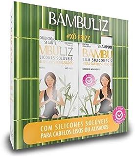 Kit Bambuliz Shampoo e Condicionador, 300 ml, Muriel, Muriel