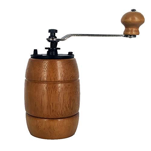 カフスボタン カフス ホームトラベルコーヒーアプライアンスのマニュアル豆グラインダーグラインダーポータブルイージーエッセンシャル ウェディングビジネスクラシックカフリンクス (色 : 褐色, Size : One size)