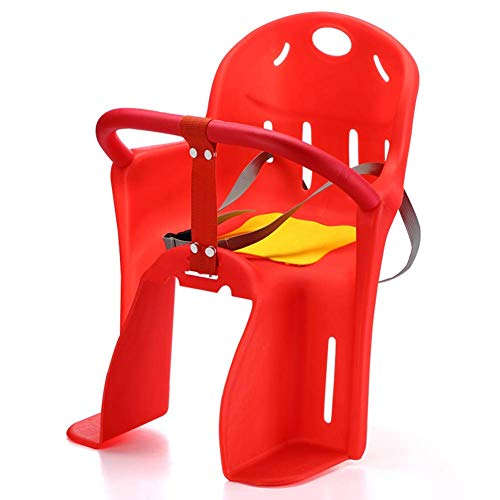 GPWDSN Fietsstoeltje voor kinderen, kinderzitje voor kinderruk, met veiligheidsgordel, versteviging en comfortabel, Quick Release