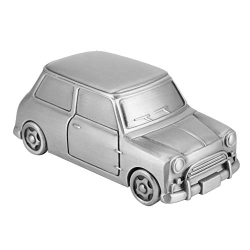 Caja linda de dinero, plata antigua Gran regalo de juguete de juguete con forma de cochecito de cochecito de la aleación de la aleación de la aleación hecha para niños