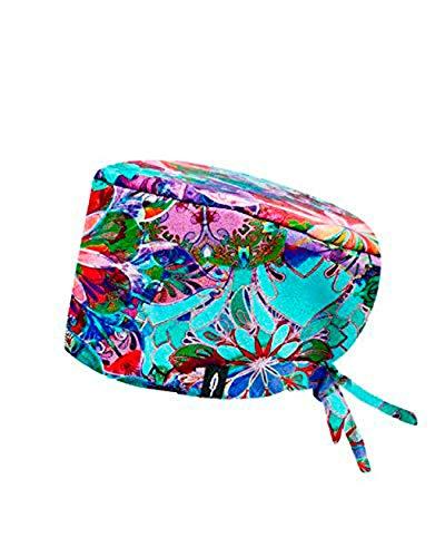 ROBIN HAT - Cuffie da sala Operatoria KELLY - CAPELLI LUNGHI- 100% cotone (Autoclave) - Massima comodità