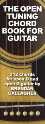 Brendan Gallagher: The Open Tuning Chord Book For Guitar: Lehrmaterial für Gitarre