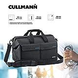 Cullmann Amsterdam Maxima 520 - Bolsa Bandolera para cámaras réflex (con Compartimentos para Accesorios), Negro