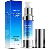 Anti-Aging Rapid Reduction Eye Cream, Visibly and Instantly Reduces Wrinkles, Under-Eye Bags, Dark Circles, Hydrates & Lifts Skin - 15mL