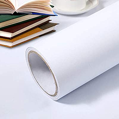 Papel Pintado Adhesivo Blanco 🎉 : 1.Color: Blanco. Tamaño: 40cm x 3m. Duradero, práctico, decorativo Papel Pintado Adhesivo Blanco 🎉 : 2. Autoadhesivo - ¡simplemente pelar y pegar! Puede aplicarse a la mayoría de las superficies planas como una soluc...