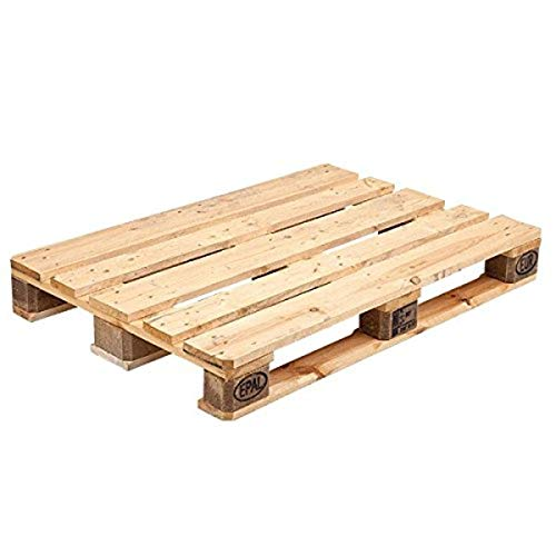 Propac Z-Palepal Pallet Epal Wood, 120 cm x 80cm x 14.4cm