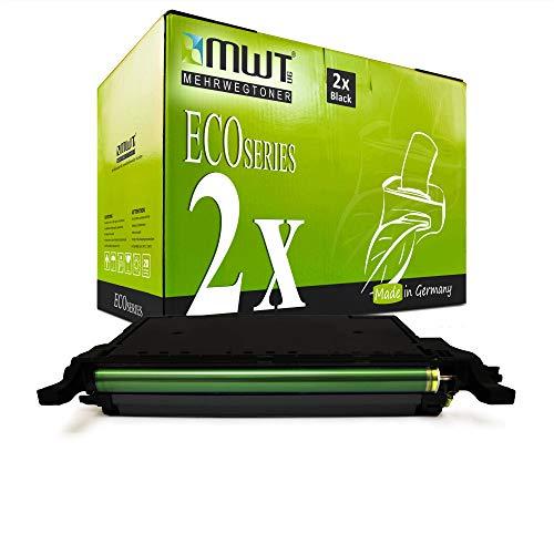 2X MWT Toner für Samsung CLX 6220 6250 wie CLT-K5082L K5082L Black Schwarz